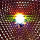 Disco Ball Blinking Background