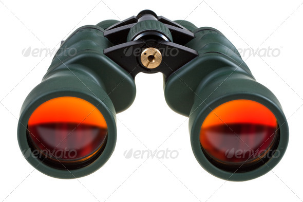 big field binocular - Stock Photo - Images