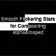Smooth Flickering Stars - VideoHive Item for Sale