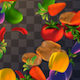 Vegetables Overlays Pack