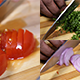 Chopping Tomatos Onions and Parsley - VideoHive Item for Sale