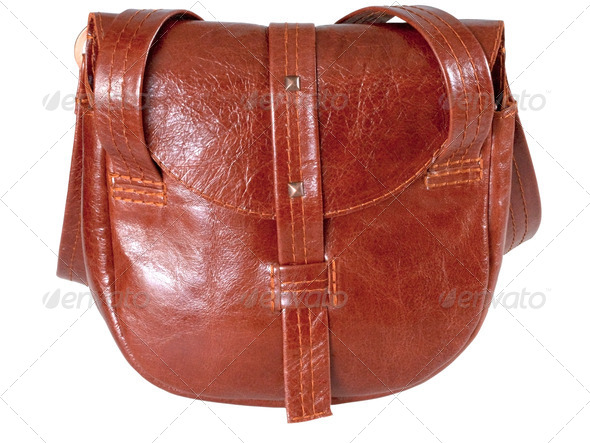 leather handbag - Stock Photo - Images