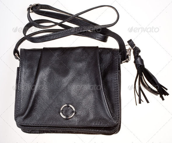 small black bag - Stock Photo - Images