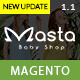 Masta – Baby Shop Responsive Magento Themes - ThemeForest Item for Sale
