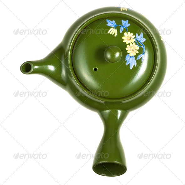 brewing teapot - Stock Photo - Images