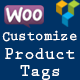 Customize Product Tag For Visual Composer