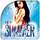 Hot Summer Baby Flyer Template