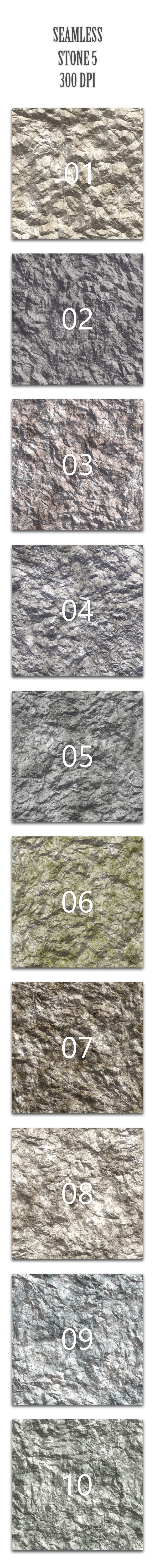 Seamless Stone 5 - Nature Textures / Fills / Patterns