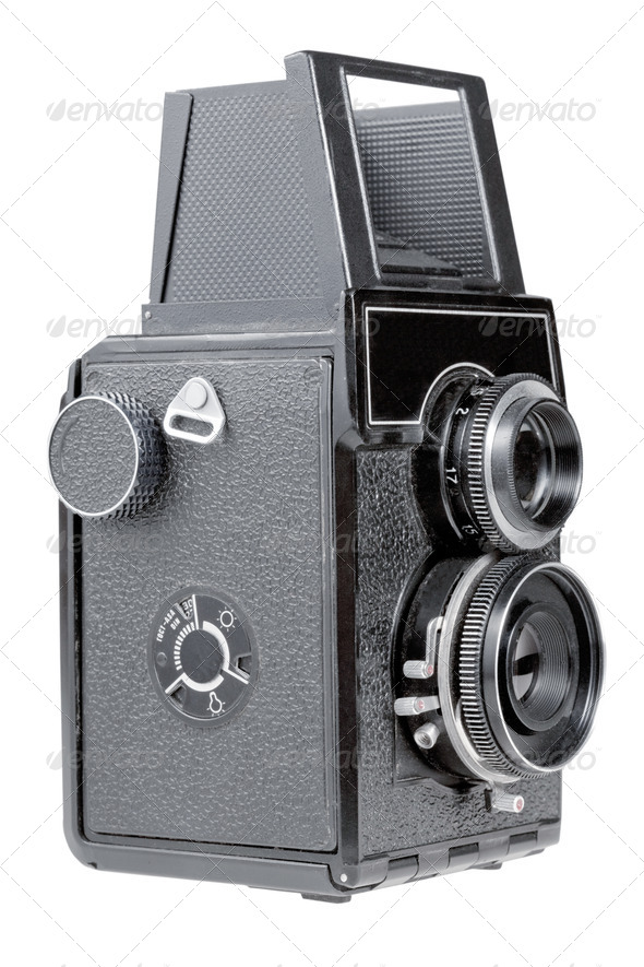 retro photo camera - Stock Photo - Images