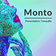 Monto Minimal Keynote Template - GraphicRiver Item for Sale
