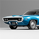 Plymouth Satellite 1971 - 3DOcean Item for Sale