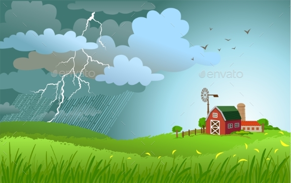 GraphicRiver Rain Is Coming 20294733