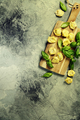 Top view on homemade pasta ravioli - PhotoDune Item for Sale