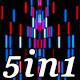 Neon Light - VJ Loop Pack (5in1)