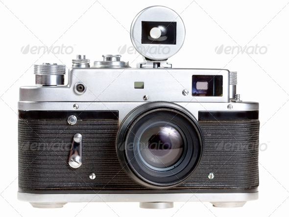 old film photocamera - Stock Photo - Images