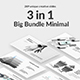 Big Bundle 2 Minimal Google Slide Template