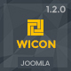 WICON | Construction & Building Joomla Template Nulled