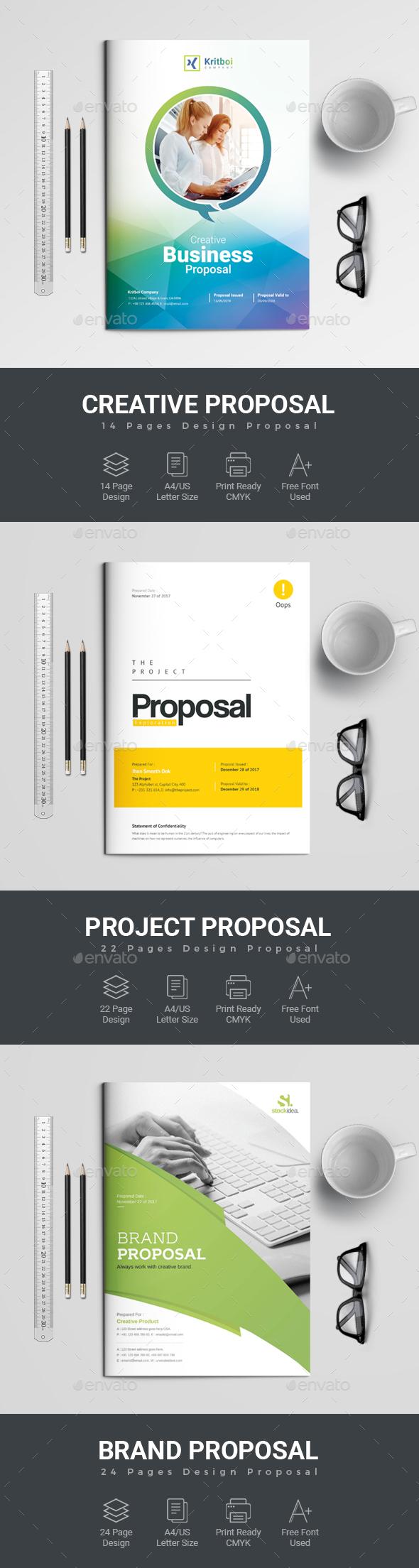 GraphicRiver Proposal Bundle 20294981