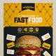 Flyer/Poster Design Template for Fast Food / Restaurants / Cafe - GraphicRiver Item for Sale