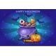 Cartoon Pot with Candy - GraphicRiver Item for Sale