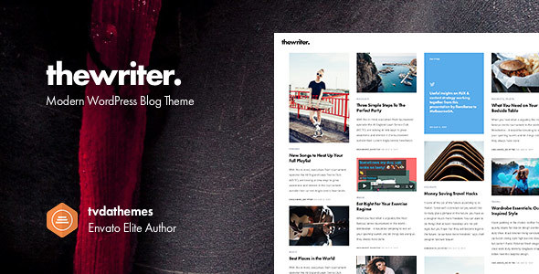 The Writer - Modern WordPress Blog Theme - Blog / Magazine WordPress