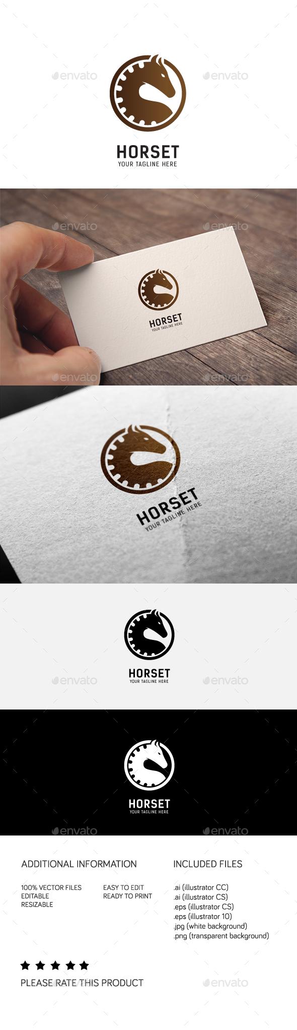 GraphicRiver Horset Logo 20295200