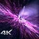 Irregular Pink Particles Background