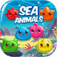 Sea Animals - HTML5 Game + Mobile game! (Capx)
