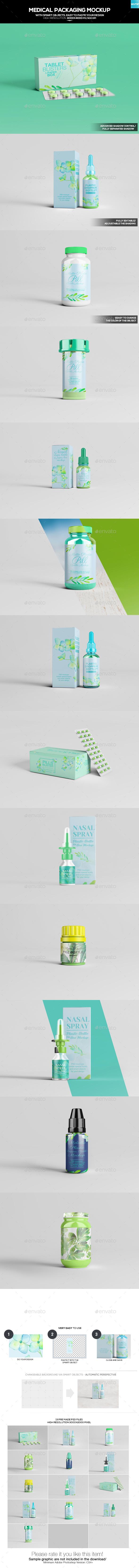 Medical Packaging Mockup
