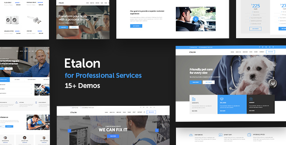 25+ Best Dental Care and Dentist WordPress Themes 2019 13