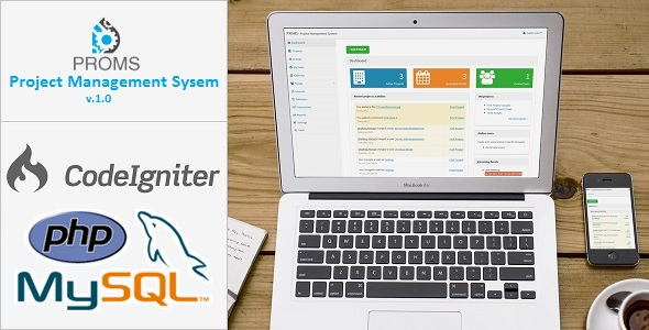 CodeCanyon PROMS Project Management System 20254138