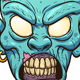 Zombie Head - GraphicRiver Item for Sale