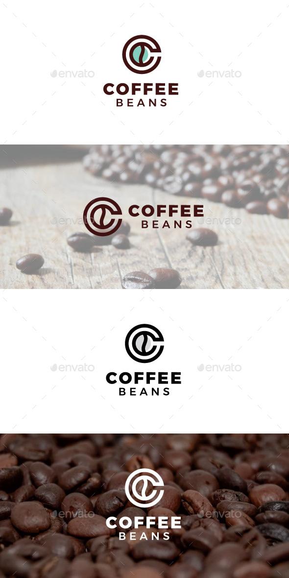 Coffee Beans - Food Logo Templates