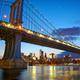 Manhattan Bridge and New York skyline - PhotoDune Item for Sale