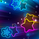 Neon Stars Background - VideoHive Item for Sale
