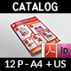 Supermarket Catalog Brochure Template Vol.4 - 12 Pages - GraphicRiver Item for Sale