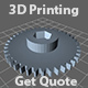 3D Printing Get Quote Widget STL/OBJ Support