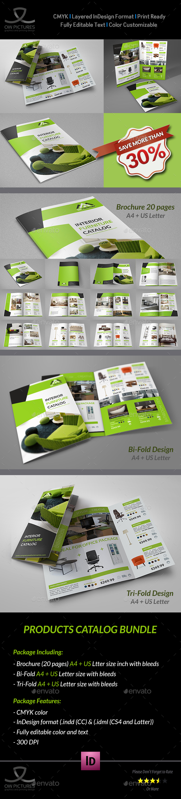 Products Catalog Brochure Bundle - Catalogs Brochures