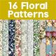 16 Spring Floral Patterns - GraphicRiver Item for Sale