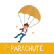 Parachute Game Template for Android iOS and Buildbox