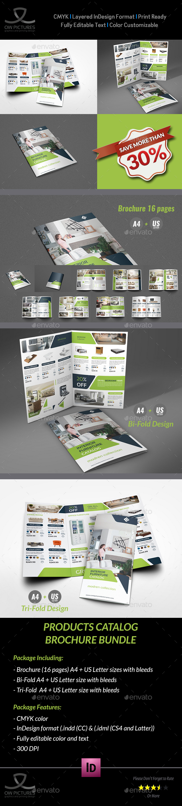 Products Catalog Brochure Bundle Vol.2 - Catalogs Brochures