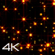 Golden Particle VJ Loops 4K