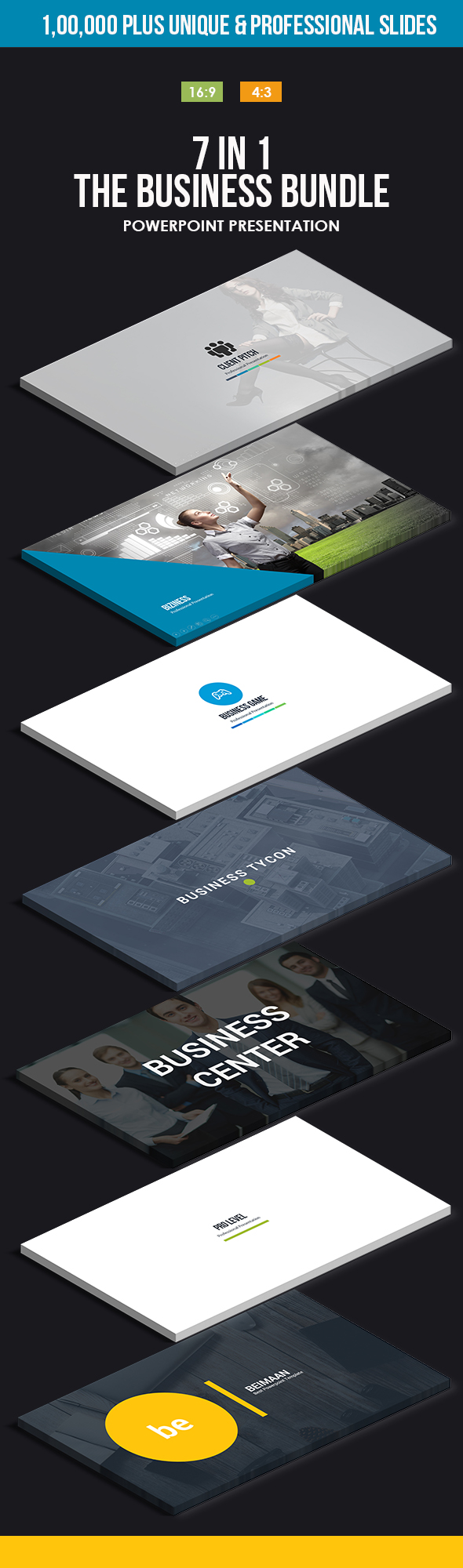 GraphicRiver 7 in 1 The Business Bundle 20298550