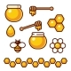 Honey Icon Set - GraphicRiver Item for Sale