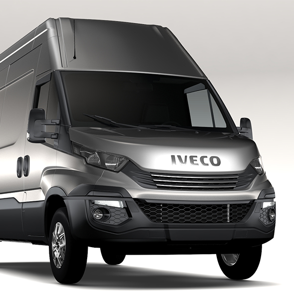 Iveco Daily L3H3 2017 - 3DOcean Item for Sale