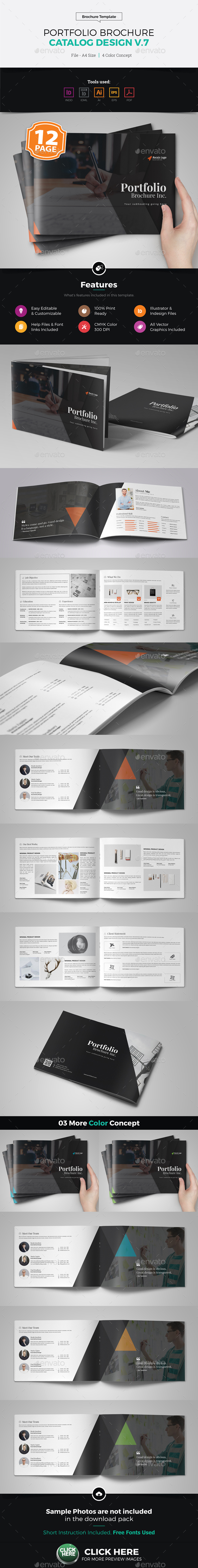 Portfolio Brochure Catalog Design v7 - Corporate Brochures