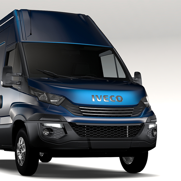 Iveco Daily L4H3 2017 - 3DOcean Item for Sale