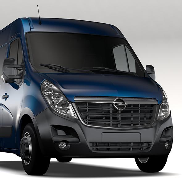 Opel Movano L2H2 Van 2016 - 3DOcean Item for Sale