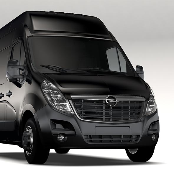 Opel Movano L2H3 Van 2016 - 3DOcean Item for Sale