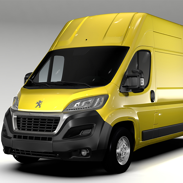 Peugeot Boxer Van L3H3 2017 - 3DOcean Item for Sale
